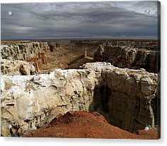 Coal Mine Mesa 08 Acrylic Print