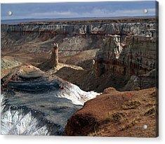 Coal Mine Mesa 09 Acrylic Print