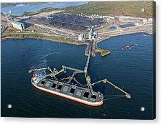 Coal Ship Acrylic Print