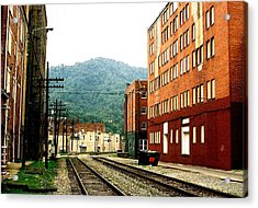 Acrylic Print featuring the photograph Coal Town Highway by Carlee Ojeda