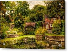 Coalport Canal Acrylic Print