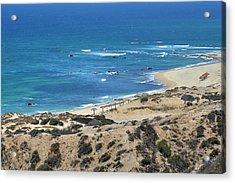 Acrylic Print featuring the photograph Coast Baja California by Christine Till