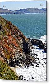 Coast Acrylic Print by Brent Dolliver