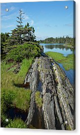 Coast East Of Lunenburg  Nova Scotia Acrylic Print