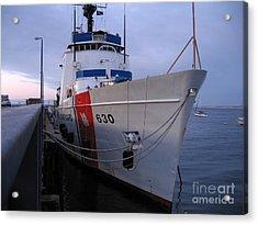 Coast Guard Cutter Alert Acrylic Print