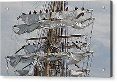 Coast Guard Cutter Eagle Opsail 2012 Acrylic Print
