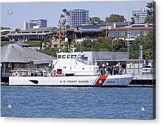 Coast Guard Acrylic Print by Shoal Hollingsworth