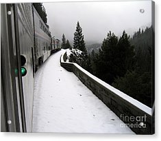 Coast Starlight In The Mountains Acrylic Print