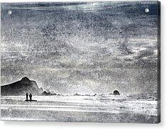 Coast Walk Acrylic Print by Carol Leigh