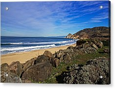 Acrylic Print featuring the photograph Coastal Beauty by Dave Files