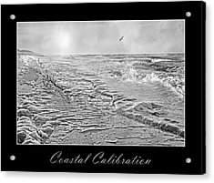 Coastal Calibration Acrylic Print