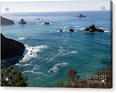 Coastal California - 473 Acrylic Print by Stephen Parker