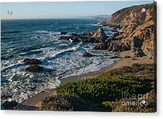 Coastal California  2.2744 Acrylic Print by Stephen Parker