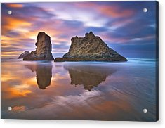 Coastal Cloud Dance Acrylic Print