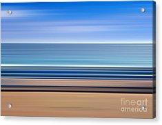 Coastal Horizon 1 Acrylic Print by Delphimages Photo Creations