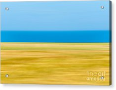 Coastal Horizon 9 Acrylic Print by Delphimages Photo Creations