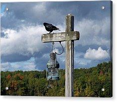 Acrylic Print featuring the photograph Coastal Maine by Gene Cyr