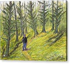 Coastal Moss Acrylic Print