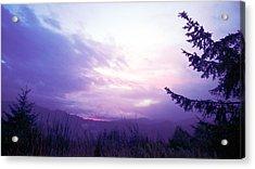 Coastal Mountain Sunrise Iv Acrylic Print