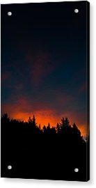 Coastal Mountain Sunrise Vi Acrylic Print