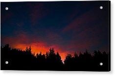 Coastal Mountain Sunrise Vii Acrylic Print