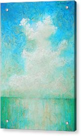 Acrylic Print featuring the painting Coastal by Pam Talley