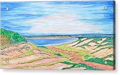 Coastal Patchwork Acrylic Print