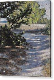 Zekes Island Acrylic Print