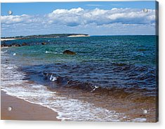 Coastal Pleasure Acrylic Print by Karol Livote