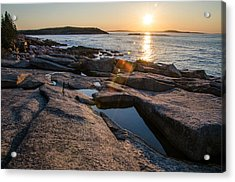 Coastal Rays Acrylic Print by Kristopher Schoenleber