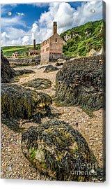 Coastal Ruins Acrylic Print by Adrian Evans