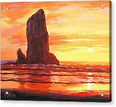 Coastal Sunset Acrylic Print