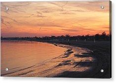 Coastal Sunset  II Acrylic Print by Margie Avellino