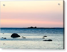 Coastal Twilight View Acrylic Print
