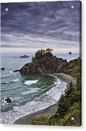 Coastal Views Acrylic Print by Andrew Soundarajan