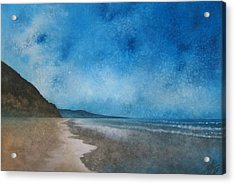 Coastal Walk At Torrey Pines Acrylic Print