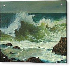 Coastal Water Dance Acrylic Print