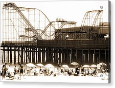 Coaster Ride Acrylic Print by John Rizzuto