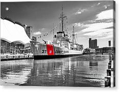 Coastguard Cutter Acrylic Print