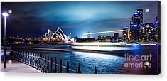 Coasting On The Harbour Acrylic Print by Az Jackson