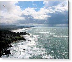 Coastline At Salishan Acrylic Print