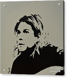 Cobain Spray Art Acrylic Print