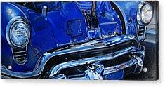 Cobalt Blue Acrylic Print by Kathleen Bischoff