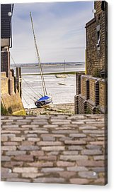 Cobble Coble Acrylic Print by Carolyn Lewis