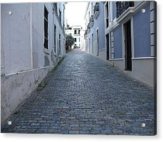 Acrylic Print featuring the photograph Cobble Street by David S Reynolds