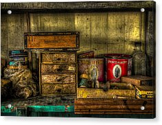 Cobblers Tobacco Acrylic Print by David Morefield
