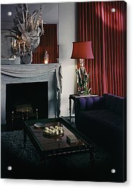 Cobina Wright's Living Room Acrylic Print