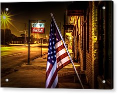 Coca-cola And America Acrylic Print