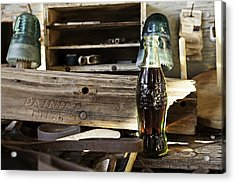 Coca-cola In The Light Of Day 4 Acrylic Print