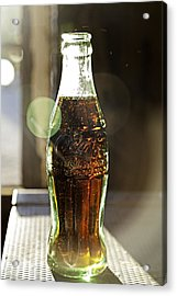 Coca-cola In The Light Of Day Acrylic Print